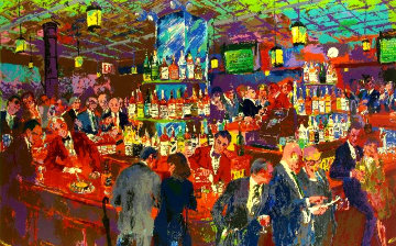 Harry\'s Wall Street Bar  Limited Edition Print - LeRoy Neiman