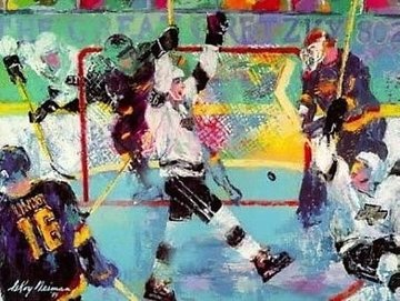 Gretzky Goal 1994 Limited Edition Print - LeRoy Neiman