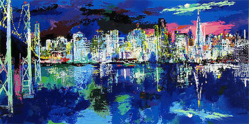 San Francisco Nocturne 1992 Limited Edition Print - LeRoy Neiman