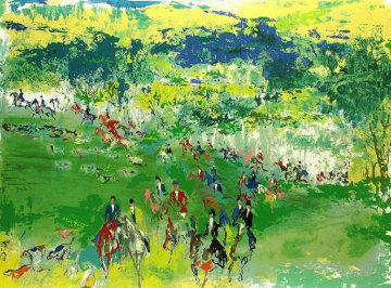 Foxhunt 1969 Limited Edition Print - LeRoy Neiman