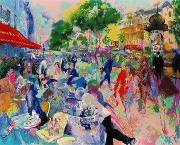 Cafe Fouquet\'s Limited Edition Print - LeRoy Neiman