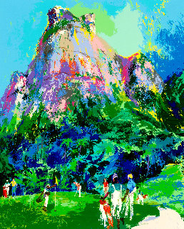 International Foursome Limited Edition Print - LeRoy Neiman