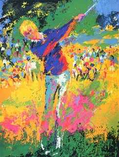 Tee Shot (Jack Nicklaus) 1973 Limited Edition Print - LeRoy Neiman