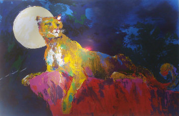 Cougar 1981 Limited Edition Print - LeRoy Neiman