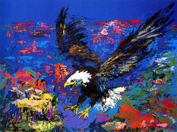 American Bald Eagle PP 1979 Limited Edition Print - LeRoy Neiman