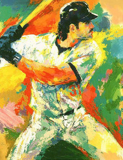 Mike Piazza 2000 Limited Edition Print - LeRoy Neiman