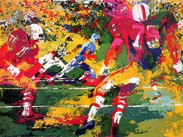 Scramble 1974 Limited Edition Print - LeRoy Neiman