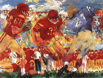 Crosstown Rivalry 1967 Limited Edition Print - LeRoy Neiman