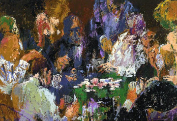 International Poker AP 2004 Limited Edition Print by LeRoy Neiman