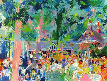 Tavern on the Green 1991 Limited Edition Print - LeRoy Neiman