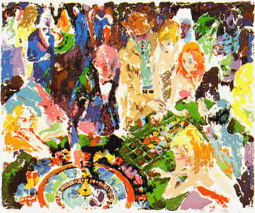 Casino AP 1972 Limited Edition Print - LeRoy Neiman