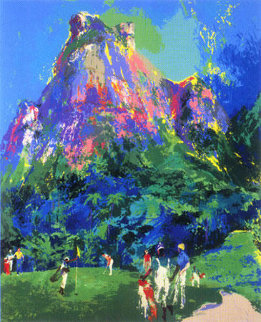International Foursome 1985 Limited Edition Print - LeRoy Neiman