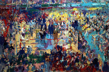 Introduction of the Champions at Madison Square Garden 1976 Limited Edition Print - LeRoy Neiman