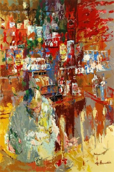Grenadier Bar 2011 Limited Edition Print by LeRoy Neiman