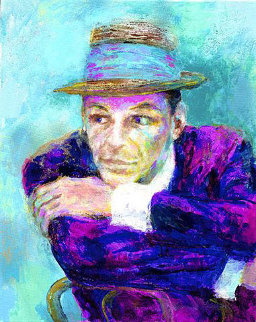Frank Sinatra - (The Voice) 2002 Limited Edition Print - LeRoy Neiman