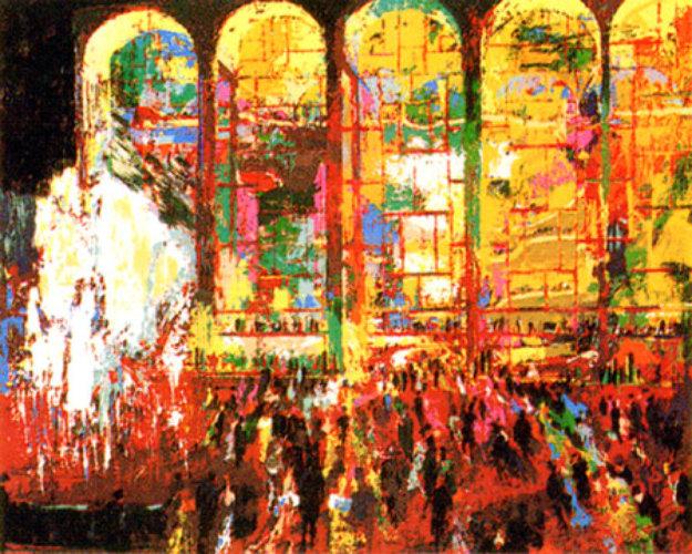 Metropolitan Opera 1980 By Leroy Neiman