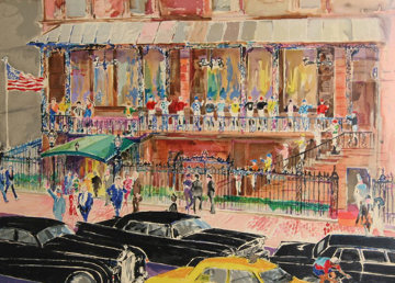 21 Club, New York 1990 Limited Edition Print - LeRoy Neiman