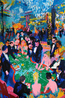 Baccarat 1994 Limited Edition Print - LeRoy Neiman