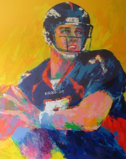 John Elway 1999 Limited Edition Print - LeRoy Neiman