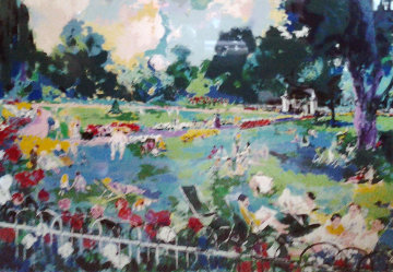 Regents Park London 1984 Limited Edition Print - LeRoy Neiman