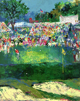Bethpage Black Course 2002 US Open Limited Edition Print - LeRoy Neiman