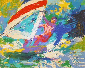 WindSurfer 1973 Limited Edition Print - LeRoy Neiman