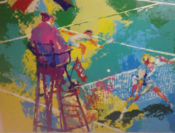 Sudden Death 1973 Limited Edition Print - LeRoy Neiman