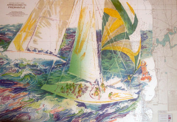 America's Cup - Australia 1986 Limited Edition Print - LeRoy Neiman