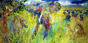 Big Five 2001 Limited Edition Print - LeRoy Neiman