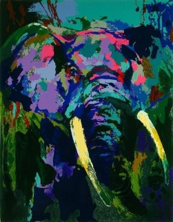 Portrait of an Elephant 2003 Limited Edition Print - LeRoy Neiman