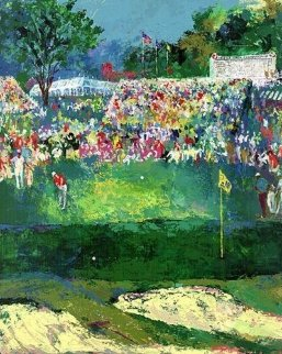 Bethpage Black Course 2002 U.S. Open Limited Edition Print - LeRoy Neiman