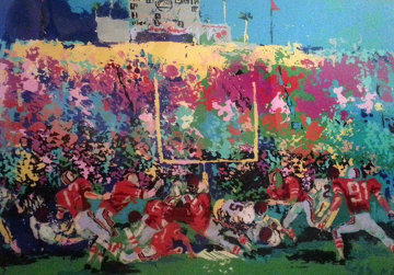 Rose Bowl from Buckeye Suite 1975 Limited Edition Print - LeRoy Neiman