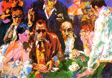 Vegas Blackjack 1976 Limited Edition Print - LeRoy Neiman