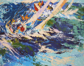 High Sea Sailing 1976 Limited Edition Print - LeRoy Neiman