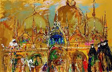 St Marks Square, Venice 2013 Limited Edition Print - LeRoy Neiman
