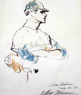 Don Drysdale Watercolors 1967 Works on Paper (not prints) - LeRoy Neiman