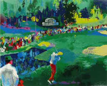 16th At Augusta 1991 Limited Edition Print - LeRoy Neiman