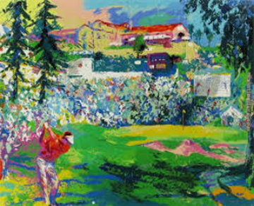 Amphitheater At Rivera 1991 Limited Edition Print - LeRoy Neiman