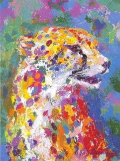 Portrait of the Cheetah 2004 Limited Edition Print - LeRoy Neiman