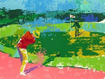 Chipping on 1972 Limited Edition Print - LeRoy Neiman