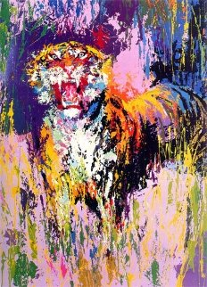 Bengal Tiger 1973 Limited Edition Print - LeRoy Neiman
