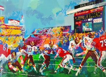 In the Pocket 1988 Limited Edition Print - LeRoy Neiman