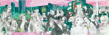 Polo Lounge 1989 Limited Edition Print - LeRoy Neiman