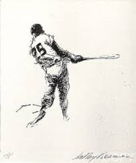 Hit AP 1972 from the Baseball Suite Limited Edition Print - LeRoy Neiman