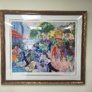 Cafe Fouquets 1993 Limited Edition Print - LeRoy Neiman