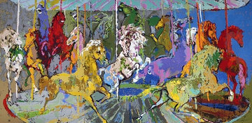 Carousel PP 2006 Limited Edition Print - LeRoy Neiman