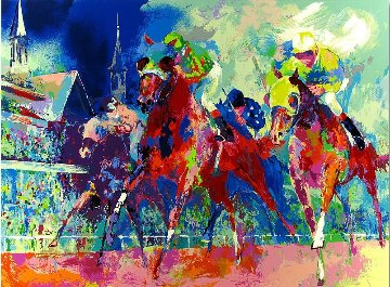 Churchill Downs AP 1993 Limited Edition Print by LeRoy Neiman