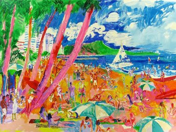 Diamond Head 1988 Limited Edition Print - LeRoy Neiman