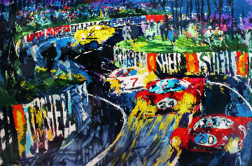 24 Hours at Le Mans 1987 Limited Edition Print - LeRoy Neiman