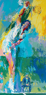 Sun Serve 1976 Limited Edition Print - LeRoy Neiman